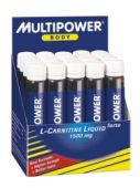 L-carnitine Mega Forte (Multipower) 20 амп.*25 мл.